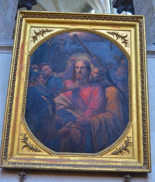 tableau et cadre : Baiser de Judas (le), vue générale