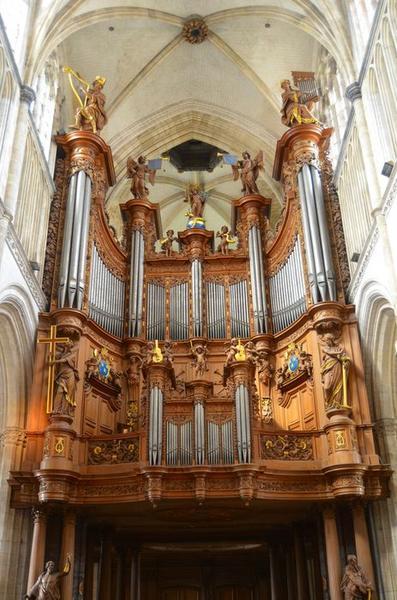 orgue de tribune, vue générale