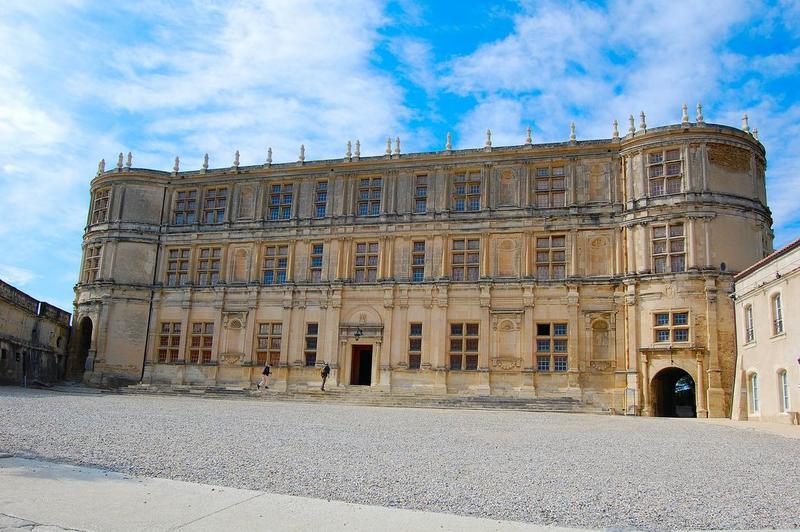 façade sud de l'aile dite François 1er, vue générale
