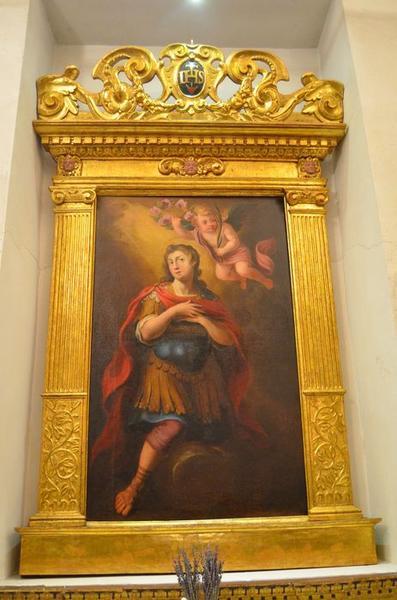 tableau : saint Lucide martyr, vue générale