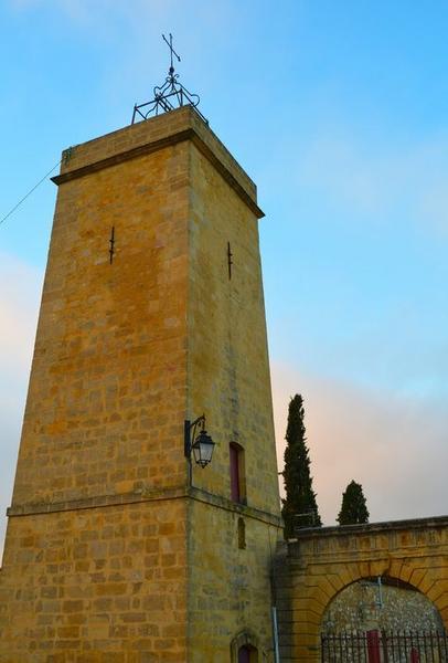 Tour de l'horloge, vue générale