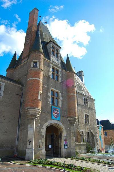 Châtelet d'entrée, façade nord, vue générale