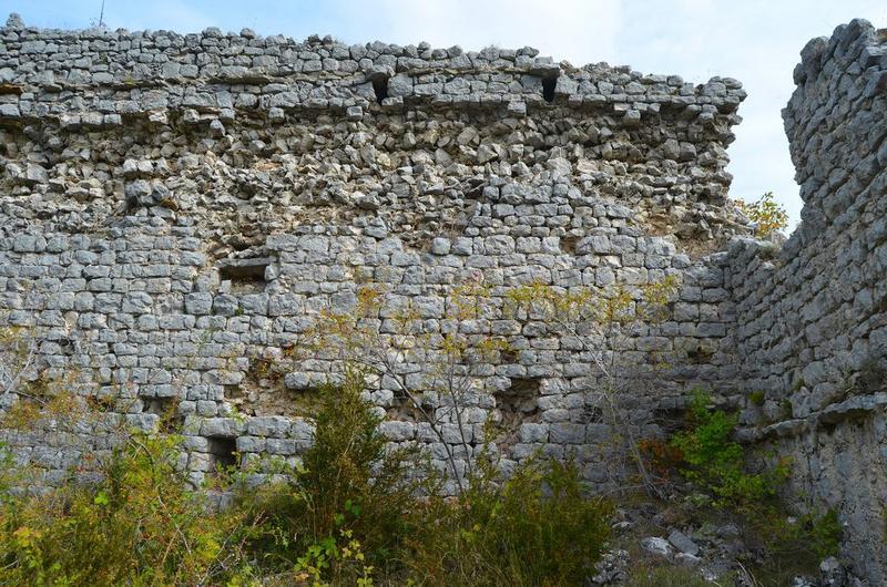 Château, vue partielle
