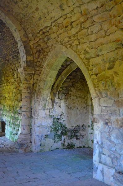 Chapelle nord, vue générale