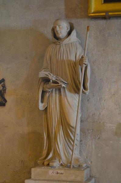 Statue: saint Bruno, vue générale