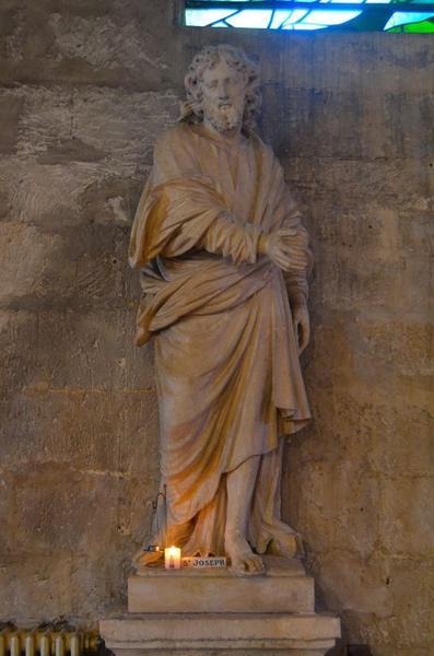 Statue: saint Joseph, vue générale