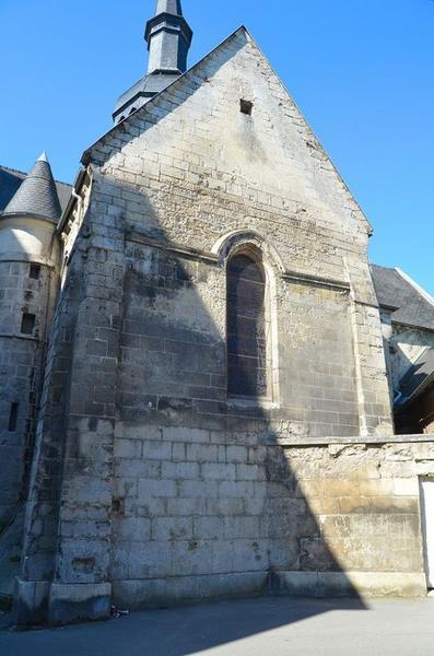 Pignon du transept est, vue générale