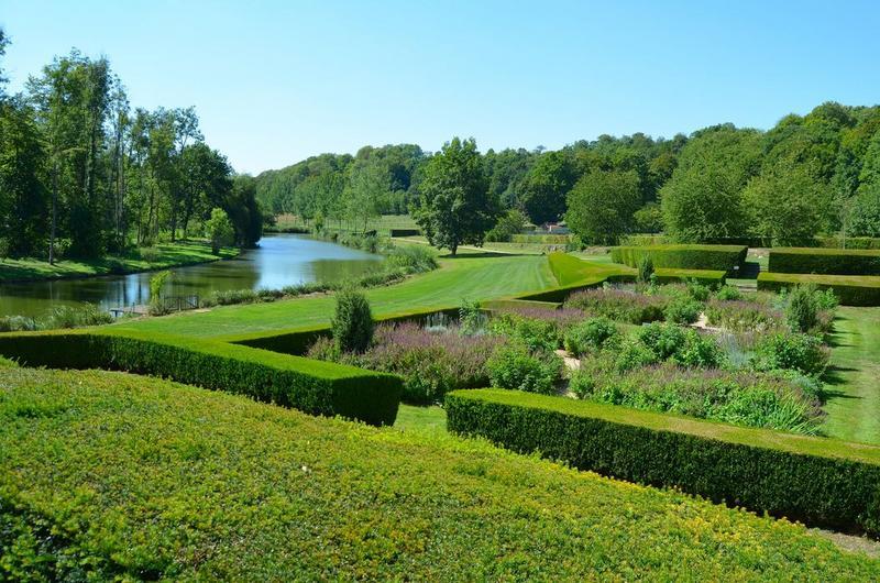 Jardins de la prieure, vue générale