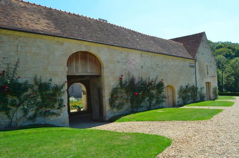 Cloître, galerie ouest, façade ouest, vue générale