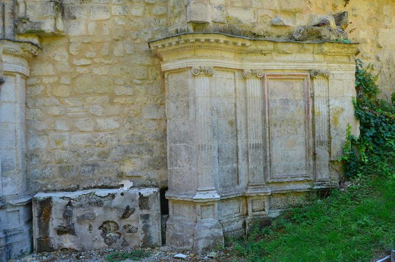 Ancienne église (vestiges), vue partielle