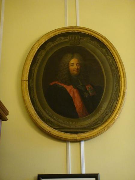 Tableau : portrait du chancelier d'Aguesseau, vue générale