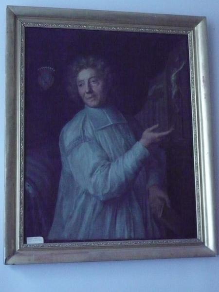 Tableau : portrait du chanoine Morelet, vue générale