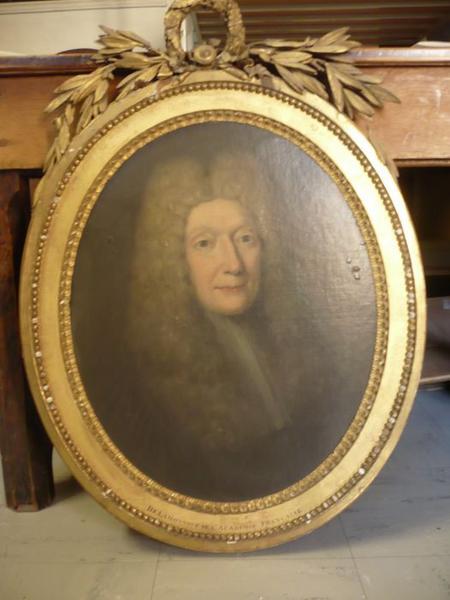 Tableau : portrait de Bernard de la Monnoye, vue générale