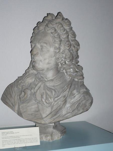 Buste de Noël Bouton de Chamilly, vue générale