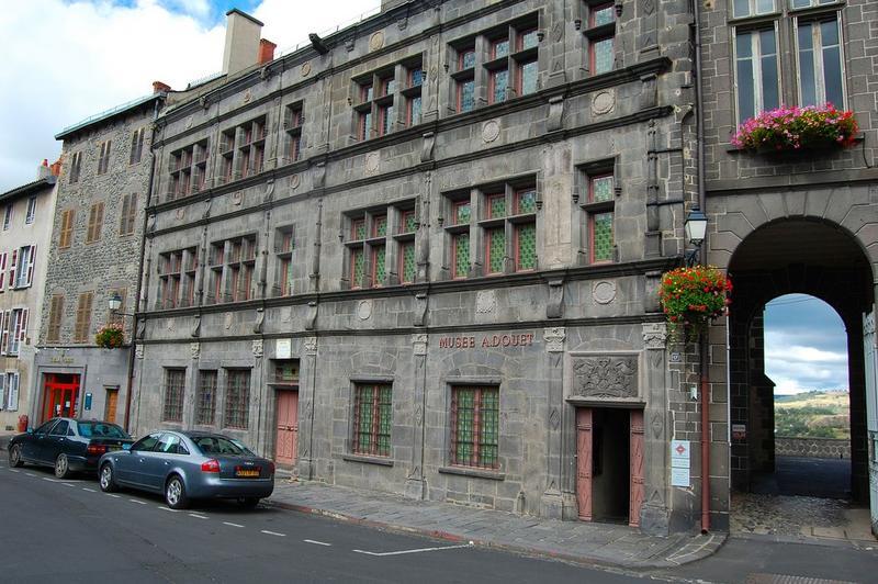 façade ouest, vue générale