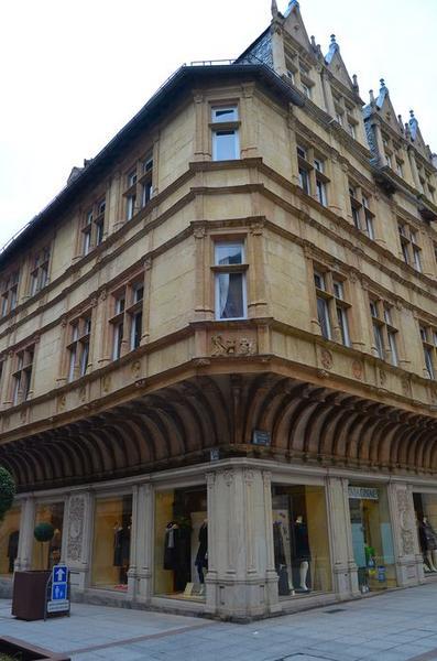 façades sud et est, vue générale