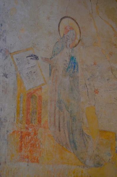 peinture monumentale: Annonciation (l'), vue partielle