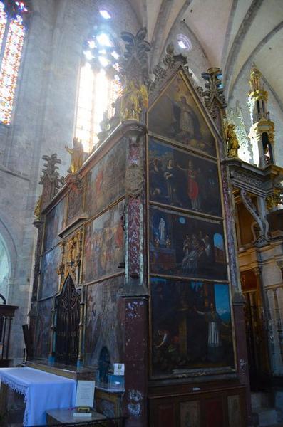 Monument sépulcral (édicule) dit du tombeau de saint Bertrand : légende de saint Bertrand
