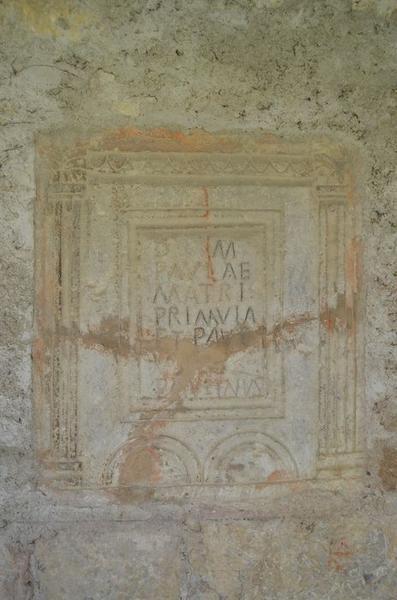 stèle (cippe funéraire), vue générale