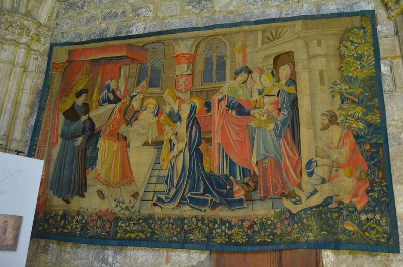 pièce murale : Présentation au Temple, vue générale
