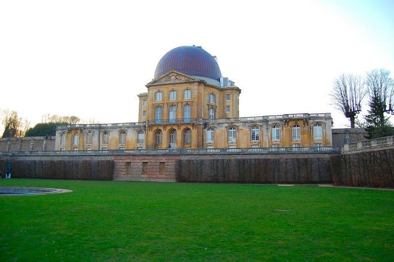 observatoire (ancien château), élévation est, vue générale