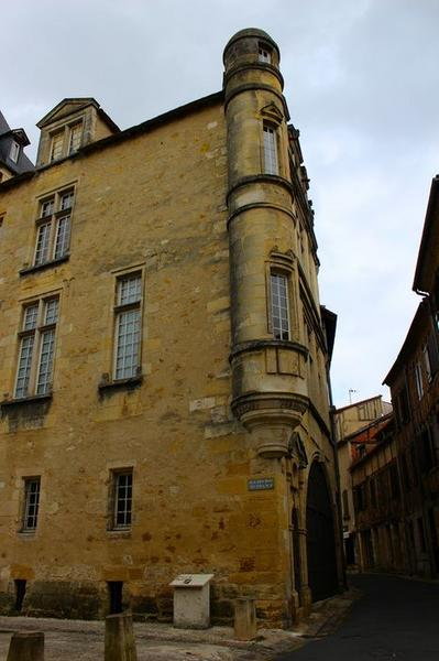 façade ouest, vue partielle