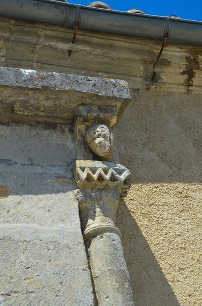 portail sud, détail