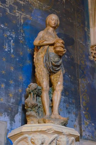 statue : sainte Marie l'Egyptienne, vue générale