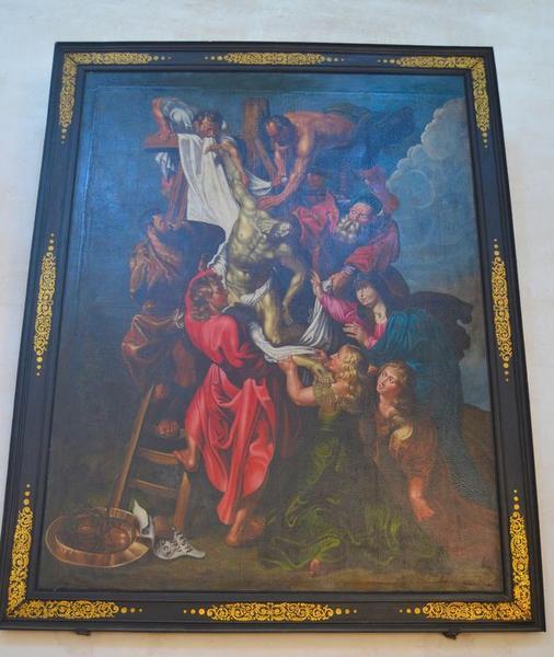 tableau: Descente de croix (la), vue générale