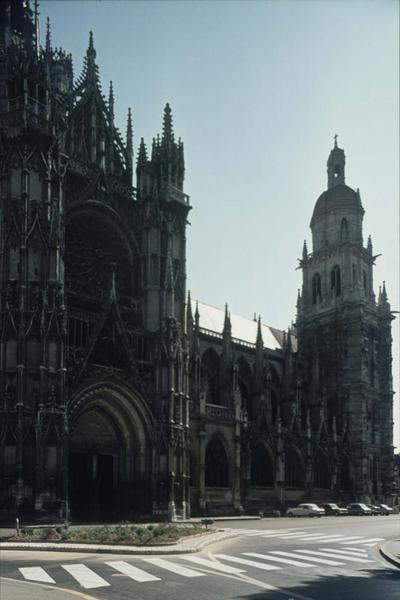 Façade nord et transept