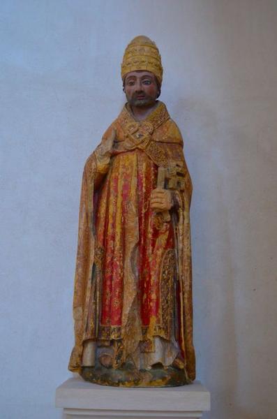 Statue : saint Pierre en pape