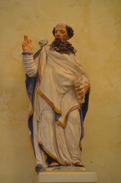 statue: saint Paul, vue générale