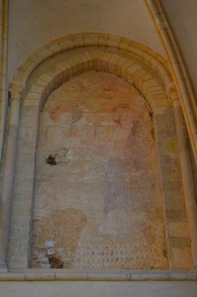 Peinture monumentale : Christ remettant les Cles à saint Pierre (le)