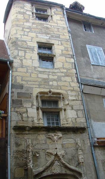 façade est, vue partielle