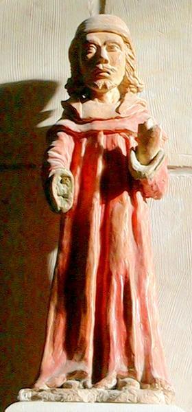 statue : saint Yves, vue générale