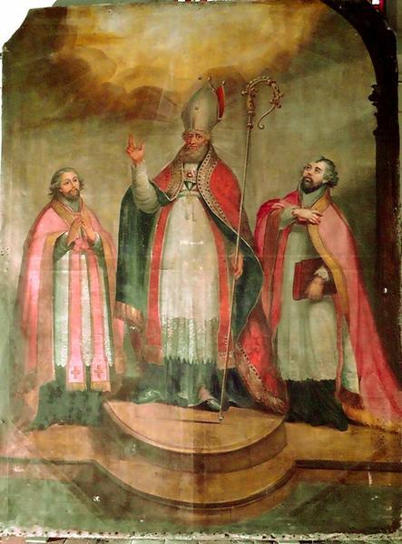 tableau : saint Sulpice, vue générale