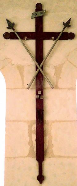 sculpture : Instruments de la Passion, vue générale