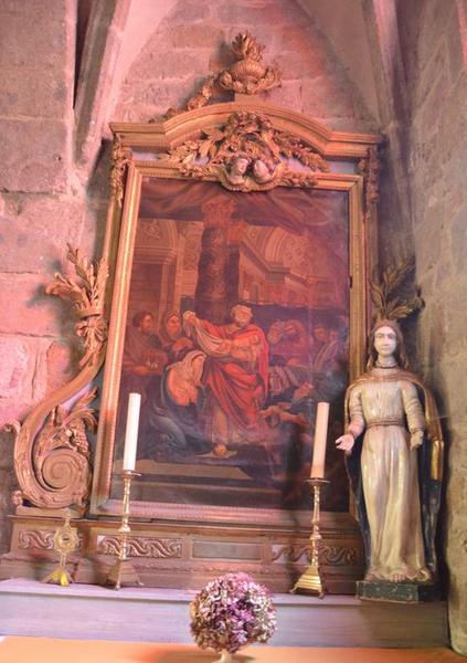 tableau: le Christ au Temple, vue générale