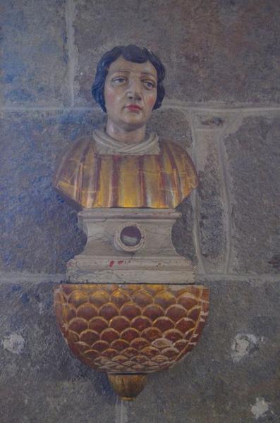 buste-reliquaire: saint Vincent