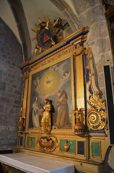 retable Saint François-d'Assises, vue générale