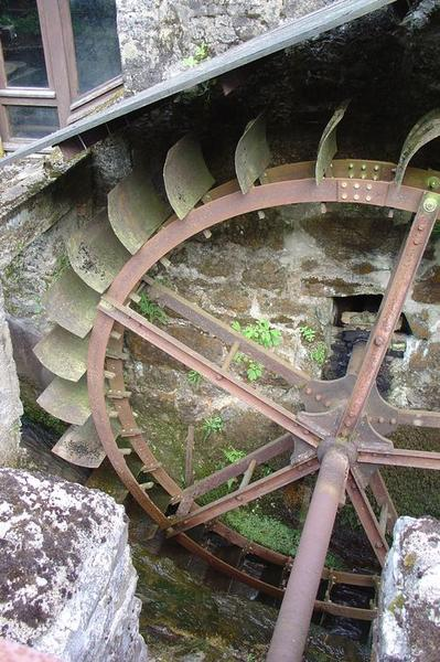 Vue partielle de la roue