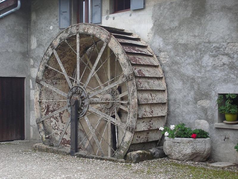 Vue générale de la roue