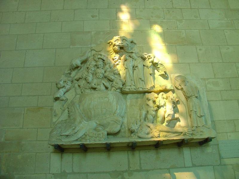 Haut-relief (fragment): jugement dernier, vue générale