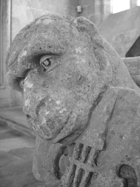 Sculpture (fragment), détail
