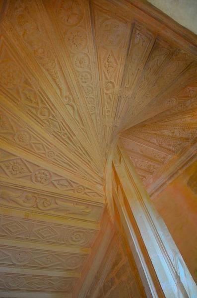 Escalier monumental, détail