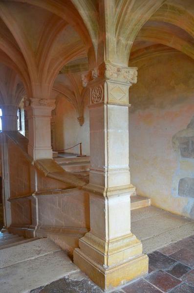 Escalier monumental, vue partielle