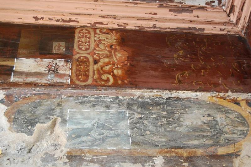 Plafond, 2e étage, peintures monumentales: Métamorphoses d'Ovide, détail