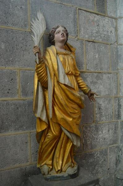 Statue: martyr non identifié, vue générale