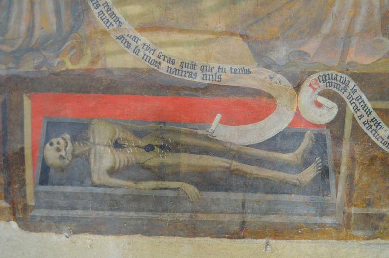 Peinture monumentale : le Jugement dernier, détail