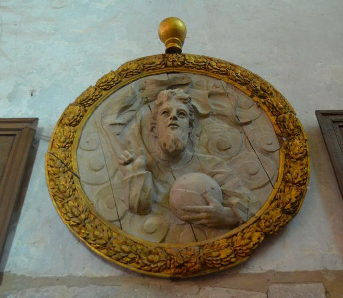 Haut-relief: Christ bénissant (le), vue générale